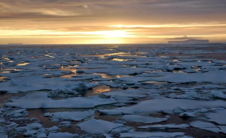 Alle Wassermassen rund um Antarktika und begrenzt im Norden durch die Konvergenzlinie werden zum