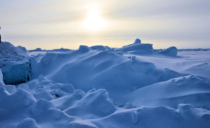 Die Temperaturen am Nordpol liegen normalerweise bei rund -15°C im Mai und bei etwa -30° im
